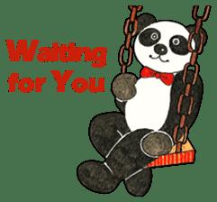 Cute Panda Museum 2 (English Version) sticker #12536940