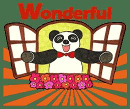 Cute Panda Museum 2 (English Version) sticker #12536941