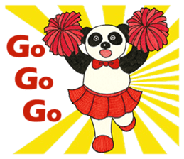 Cute Panda Museum 2 (English Version) sticker #12536942