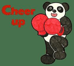 Cute Panda Museum 2 (English Version) sticker #12536943