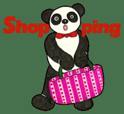 Cute Panda Museum 2 (English Version) sticker #12536944