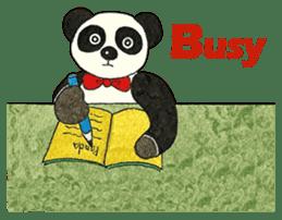 Cute Panda Museum 2 (English Version) sticker #12536945