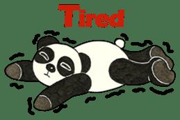 Cute Panda Museum 2 (English Version) sticker #12536950
