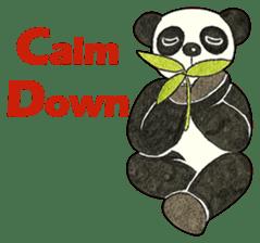 Cute Panda Museum 2 (English Version) sticker #12536951
