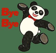 Cute Panda Museum 2 (English Version) sticker #12536953