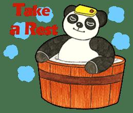 Cute Panda Museum 2 (English Version) sticker #12536955