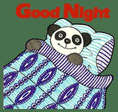 Cute Panda Museum 2 (English Version) sticker #12536957