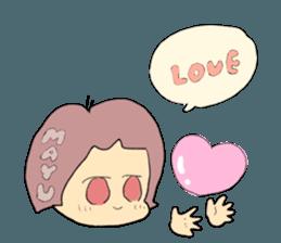 mayu`s name sticker #12541343
