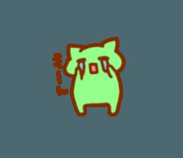 nyanyairo sticker #12542740
