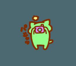 nyanyairo sticker #12542770