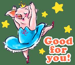 Ballerina Dodoot sticker #12549608