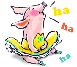 Ballerina Dodoot sticker #12549611