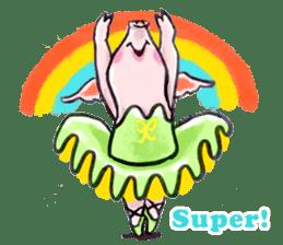 Ballerina Dodoot sticker #12549615