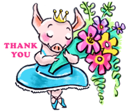 Ballerina Dodoot sticker #12549625