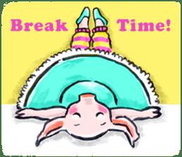 Ballerina Dodoot sticker #12549633
