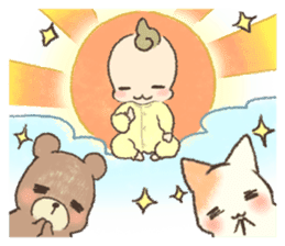 MOCHI-BABY and Merry Frands . sticker #12550462