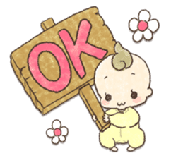 MOCHI-BABY and Merry Frands . sticker #12550468