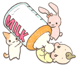 MOCHI-BABY and Merry Frands . sticker #12550477