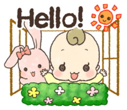 MOCHI-BABY and Merry Frands . sticker #12550489