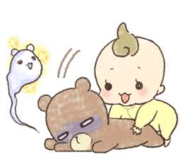 MOCHI-BABY and Merry Frands . sticker #12550494