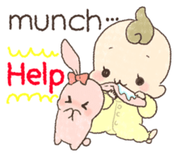 MOCHI-BABY and Merry Frands . sticker #12550495