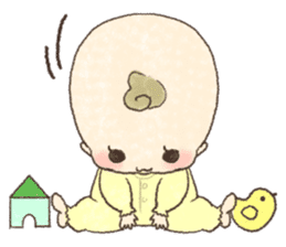 MOCHI-BABY and Merry Frands . sticker #12550501