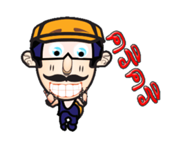 Mr. flogle anime sticker #12551957