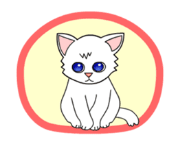 my cat Knee sticker #12552910