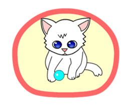 my cat Knee sticker #12552915