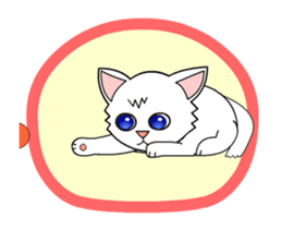 my cat Knee sticker #12552916