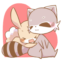 LOVE!Raccoons&Rabbit5