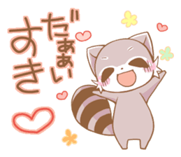 LOVE!Raccoons&Rabbit5 sticker #12554751
