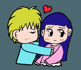 LOVELOVE Couple sticker #12562134