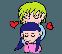 LOVELOVE Couple sticker #12562135