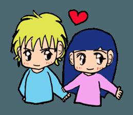 LOVELOVE Couple sticker #12562137