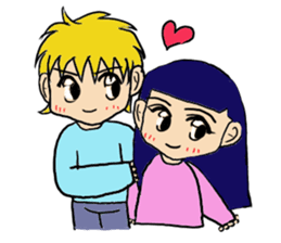 LOVELOVE Couple sticker #12562138