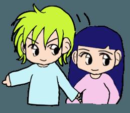 LOVELOVE Couple sticker #12562144