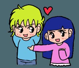 LOVELOVE Couple sticker #12562149