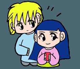 LOVELOVE Couple sticker #12562151