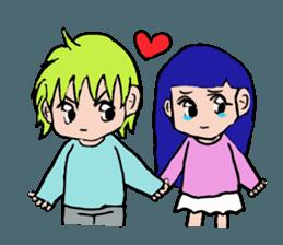 LOVELOVE Couple sticker #12562152