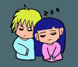 LOVELOVE Couple sticker #12562154