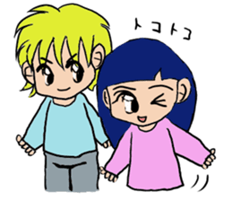 LOVELOVE Couple sticker #12562162