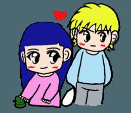 LOVELOVE Couple sticker #12562168