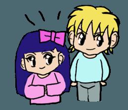 LOVELOVE Couple sticker #12562170