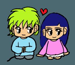 LOVELOVE Couple sticker #12562171