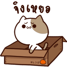 Tofu the cat sticker #12562847