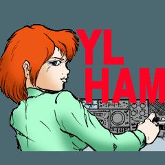 YL HAM radio