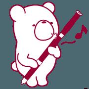 สติ๊กเกอร์ไลน์ The bear