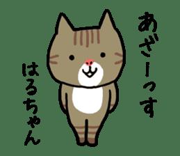 Haruchan cat sticker #12565774