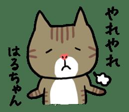 Haruchan cat sticker #12565782